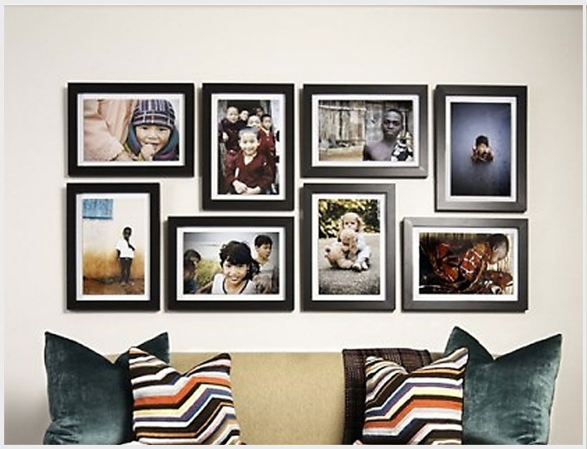 Wall Frame Ideas Favorite Places  Spaces Pinterest Frames