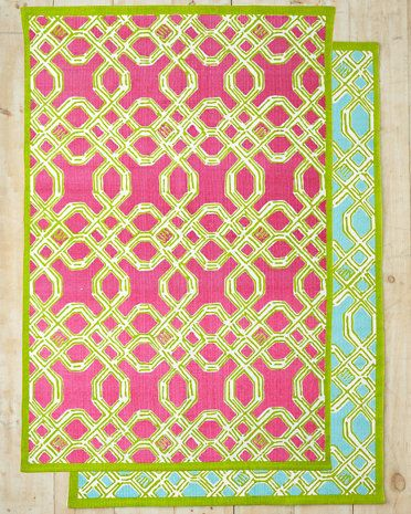Lilly Pulitzer Well Connected Cotton Rug