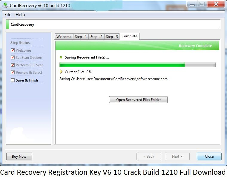Card recovery registration key v6 10 crack build 1210 full