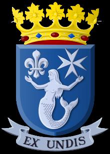 Wapen van Eemsmond - Wikipedia, De zeemeermin komt uit het wapen van de voormalige gemeente Uithuizermeeden.