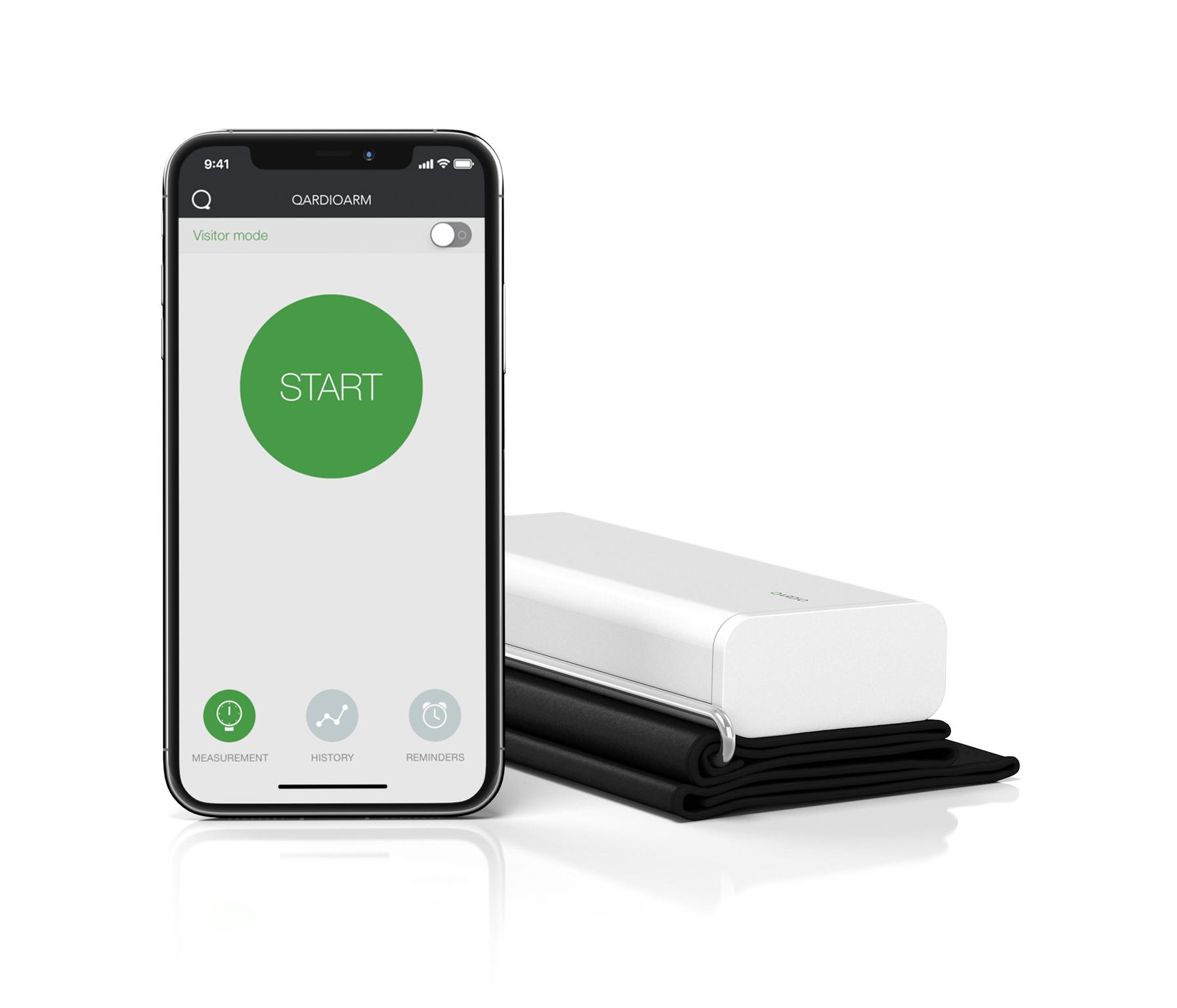 Wireless Blood Pressure Monitor QardioArm Blood