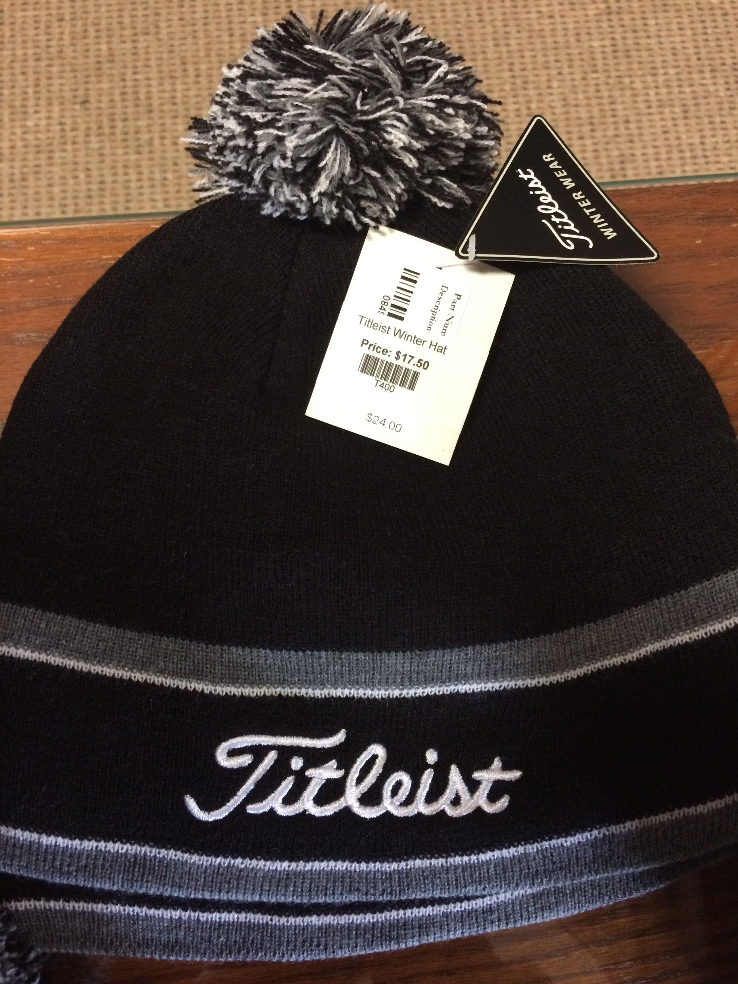 c54877e6852 Titleist winter hat