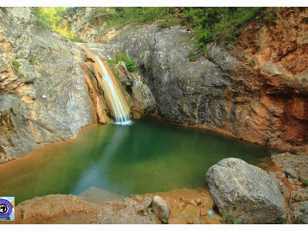 La Gorguina Cataluña Piscinas Naturales Viajar Por España Paraje Natural