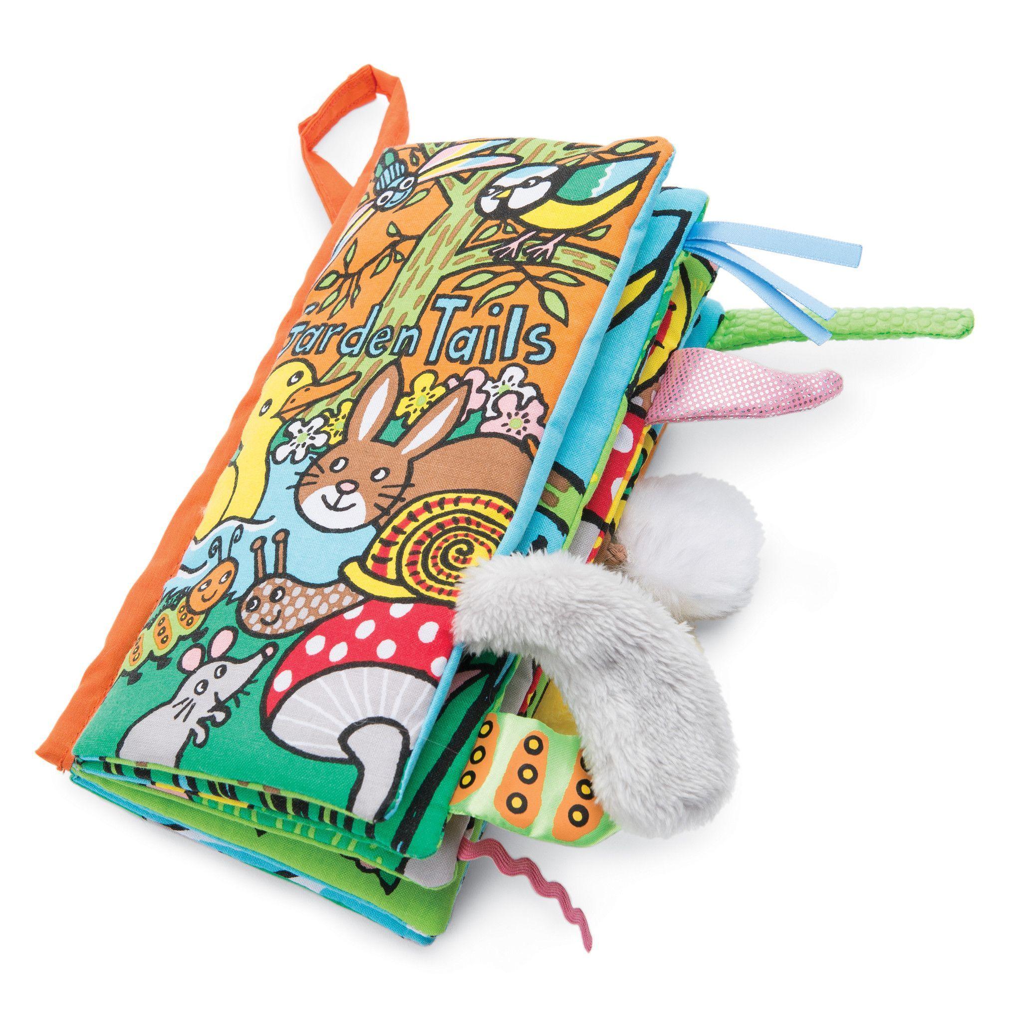 Jellycat Soft Book Garden Tails