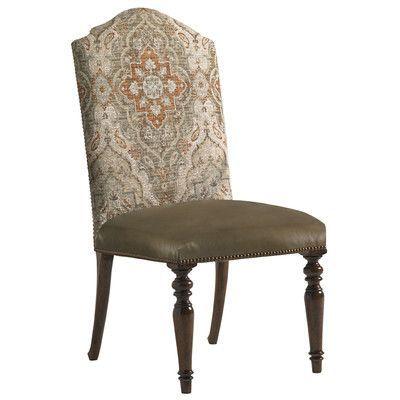 lexington coventry hills ellyson parsons chair upholstery dark