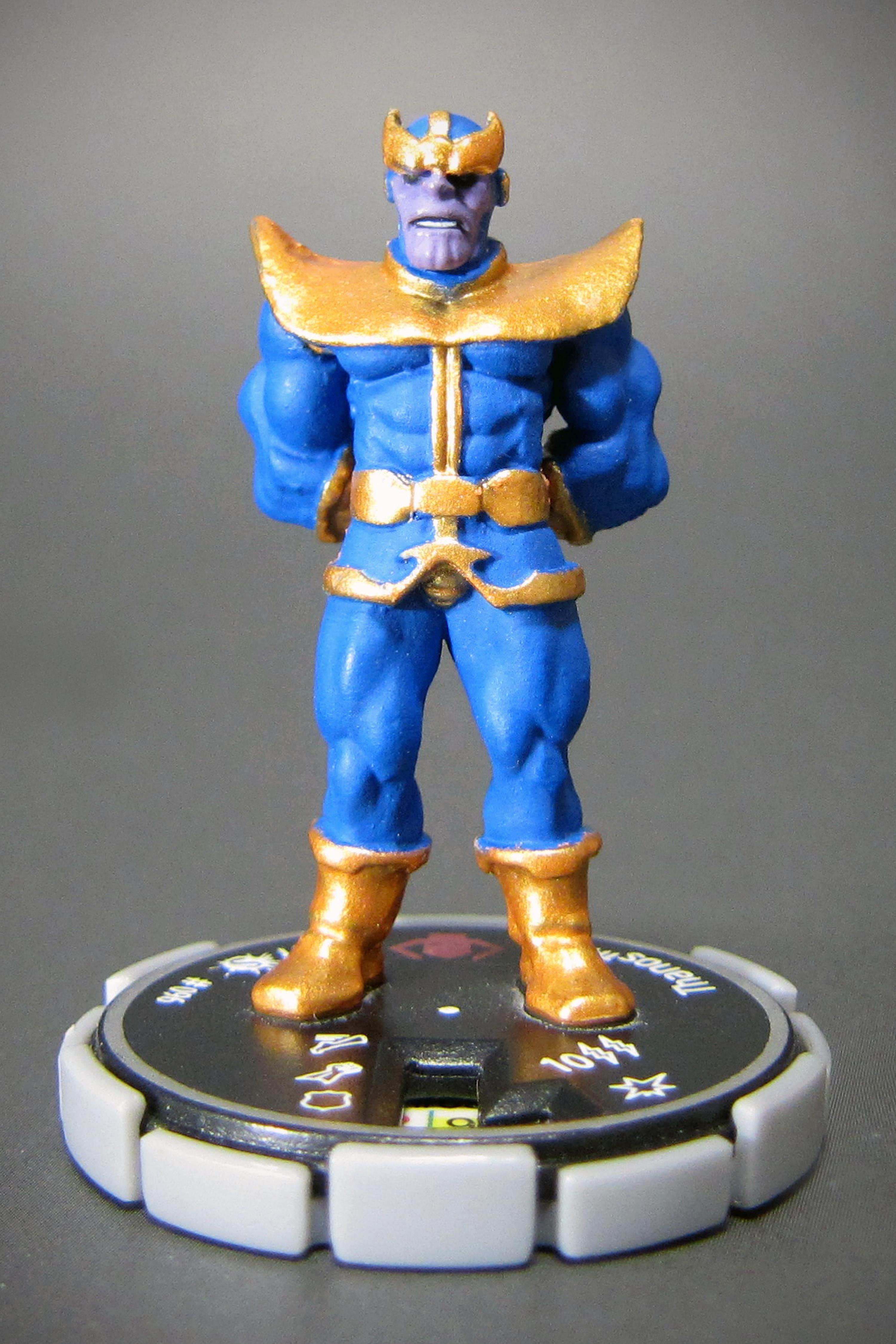 "Marvel HeroClix Supernova #96 Thanos - Unique ""Thanos""(サノス ..."
