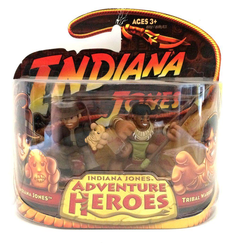 Indiana Jones - Adventure Heroes - Indiana Jones and Tribal Warrior  Hasbro  Indiana Jones www.detoyboys.nl