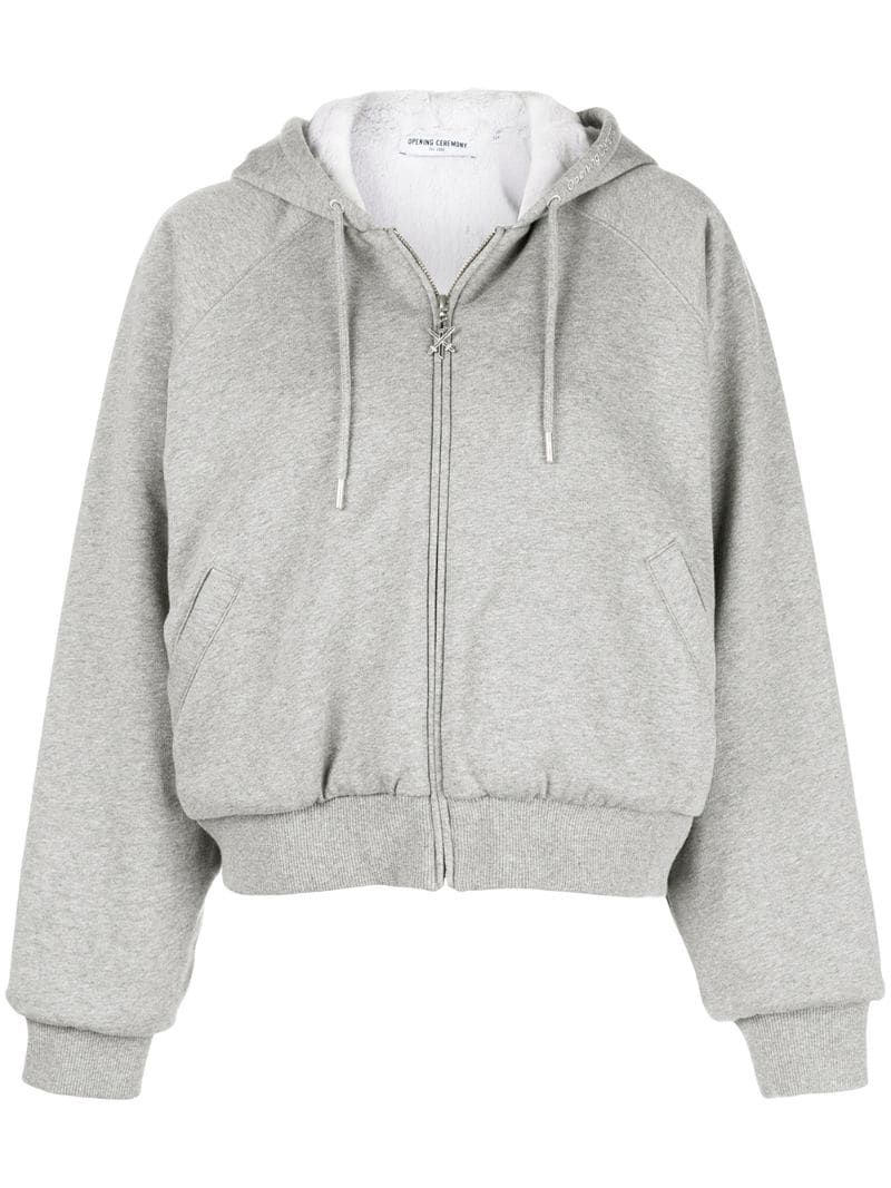 Opening Ceremony Clothing Oversized Zip Up Hoodie Opening Ceremony Clothing Oversized Zip Up Hoodie Hoodie Outfit Hoodies [ 1067 x 800 Pixel ]