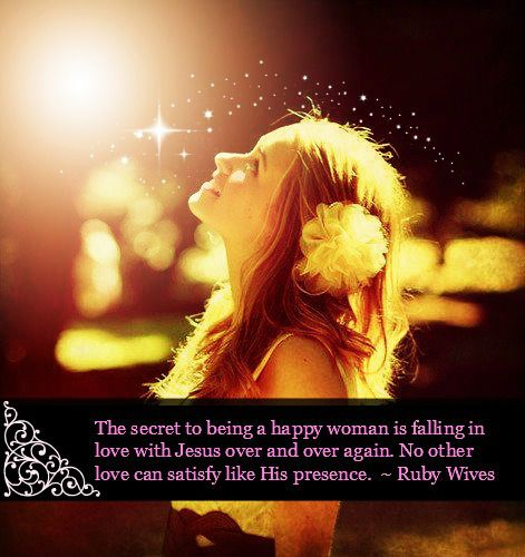 The Secret To Being A Happy Woman Is Falling In Love With