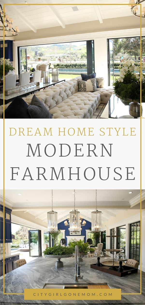 Modern farmhouse dream home walk through this dreamy american and be inspired by also the decor ideas rh pinterest