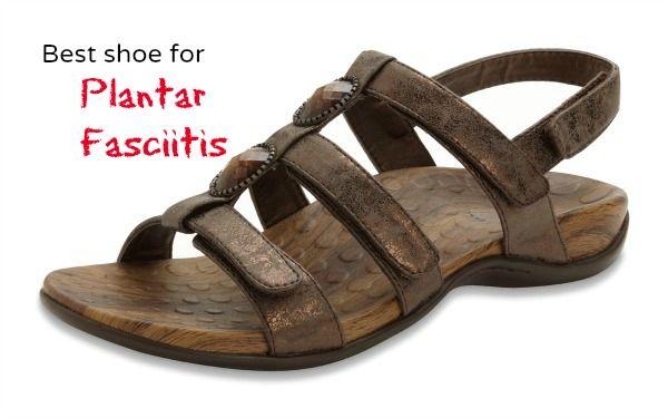 Best women's sandals for plantar fasciitis