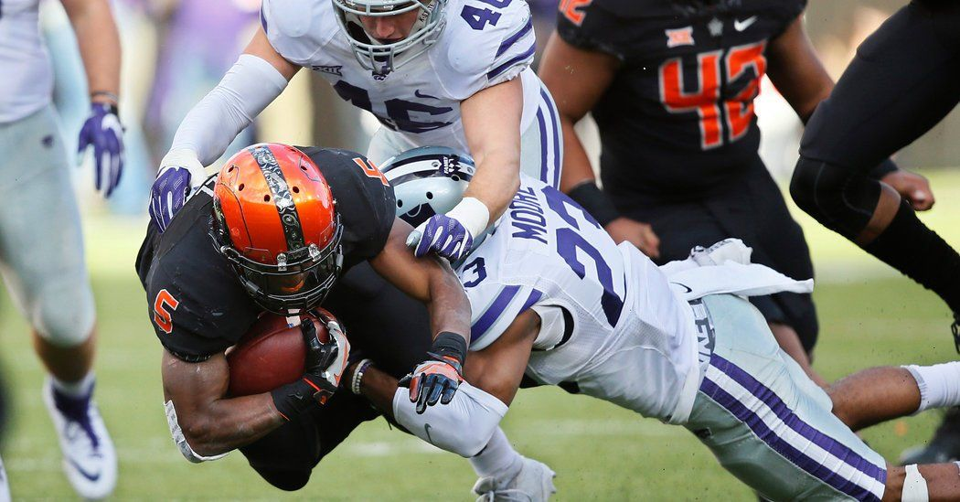 College Football Oklahoma State's Slim Playoff Hopes