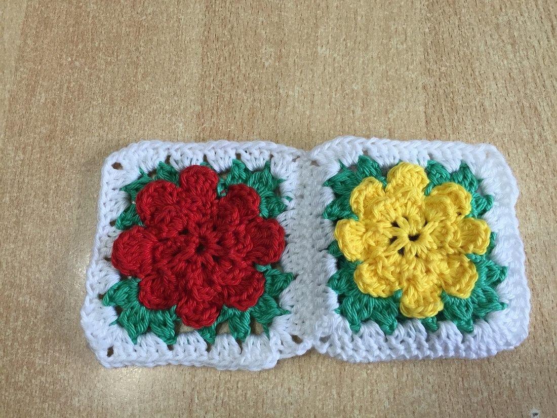 Tuto Granny Fleur Au Crochet Crochet Pinterest Crochet