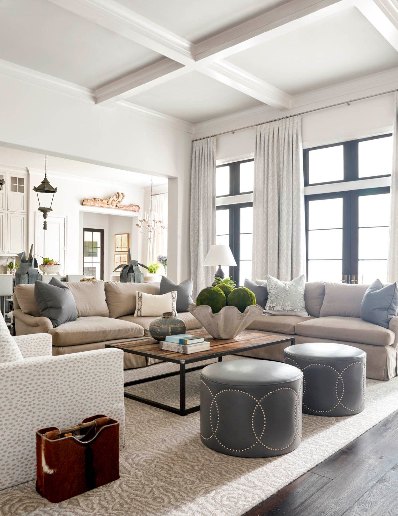Memorial Interior Design | Dodson Interiors | Houston, TX | Living ...