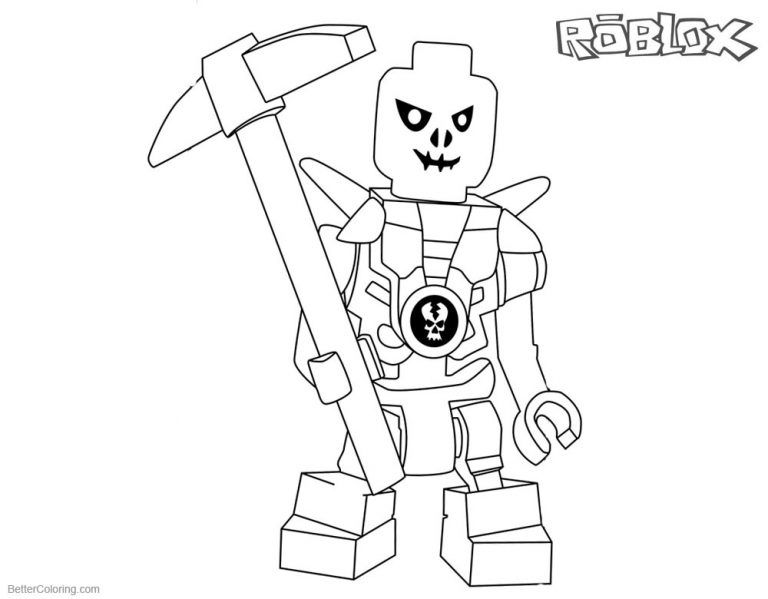 Printable Roblox Coloring Pages Roblox Characters Coloring Pages