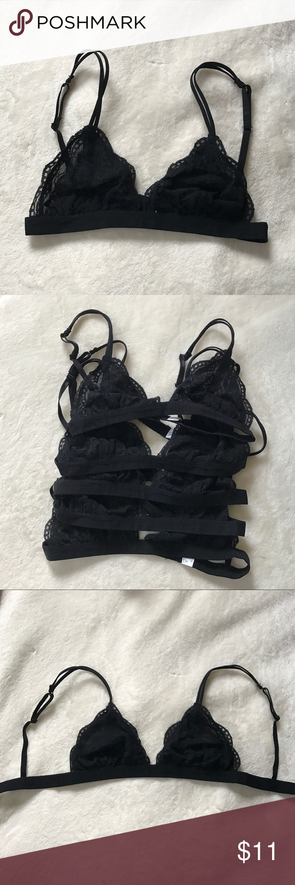 6cfd66f7f0 Brandy Melville Lourdes Bralette 💛 I ordered one bralette from Brandy  Melville and they ended up sending me 9! 😍🙏🏼 I m selling the rest of the  8 for ...