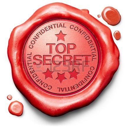 Top Secret Informacion De La Propiedad Privada Y Confidencial La Informacion Clasificada O Sello Rojo Sello De Cera Empresas Italia Os 100