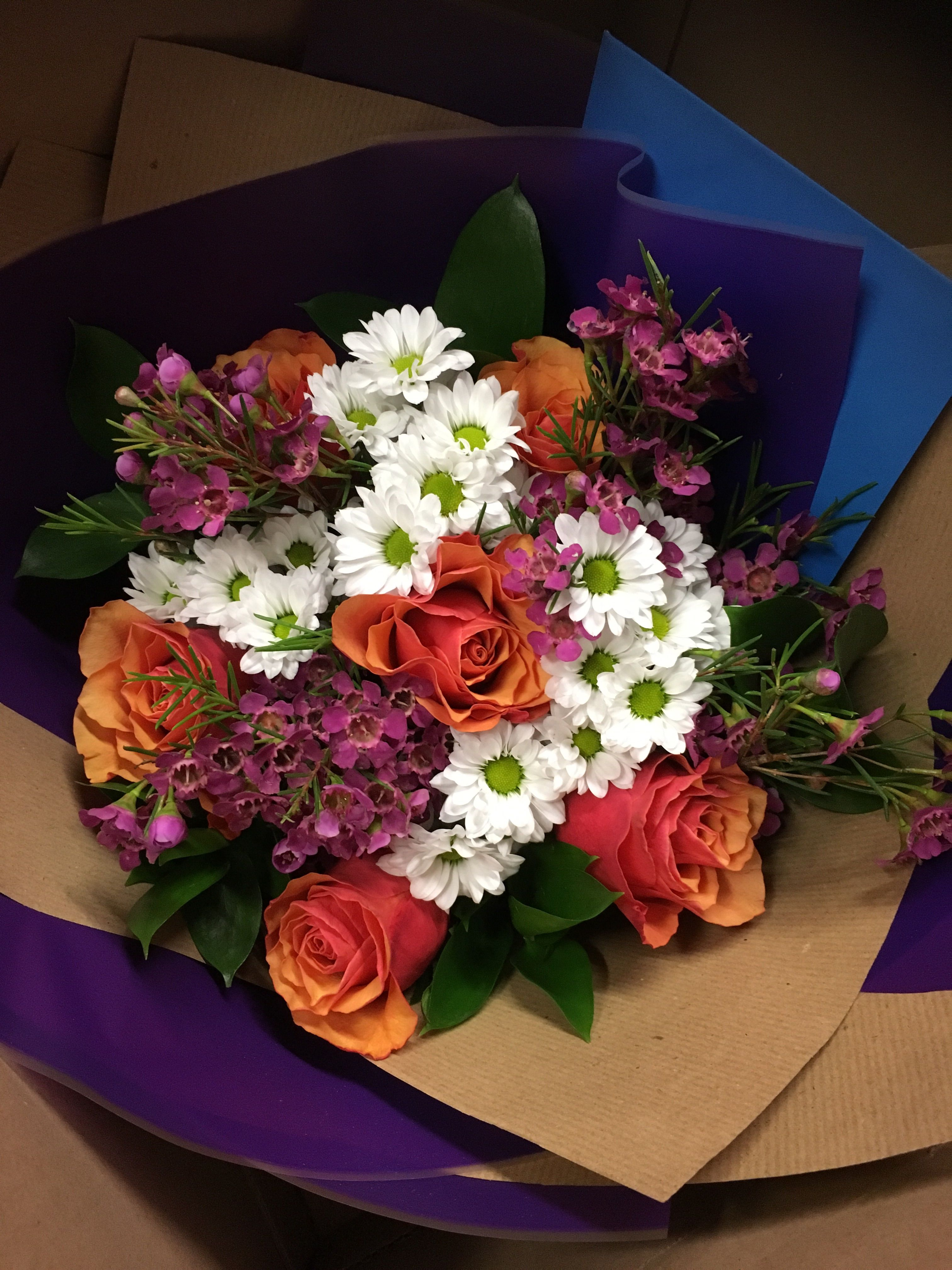 Berry Burst Peach roses, Birthday flowers, Online flower