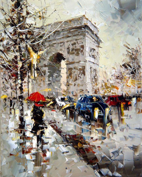 Kal Gajoum | Pinturas | Pinterest | Pintura parisina, Cuadro y ...