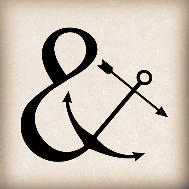 f0cc28383 Image result for ampersand anchor meaning | Symbols | Tattoos ...