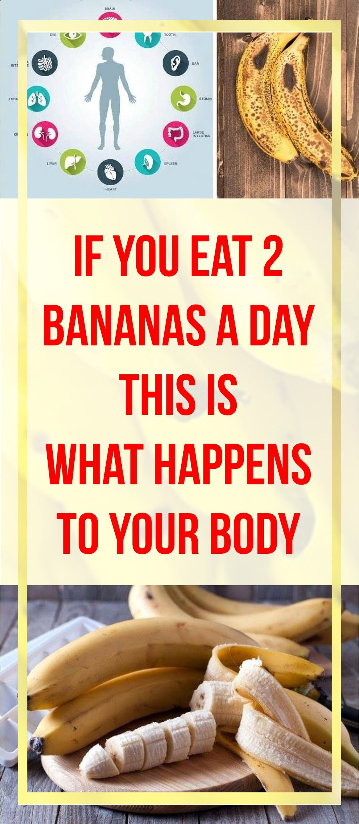 Ever Wonder What Will Happen To Your Body If You Eat 2 Bananas A