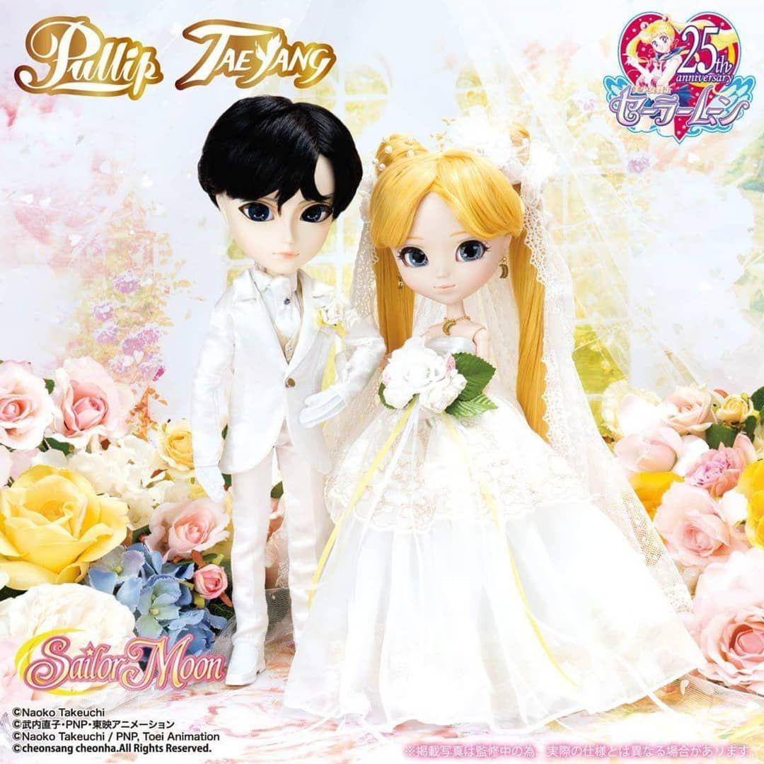Gambar Mamoru Chiba Dan Usagi Tsukino Wedding S Anime
