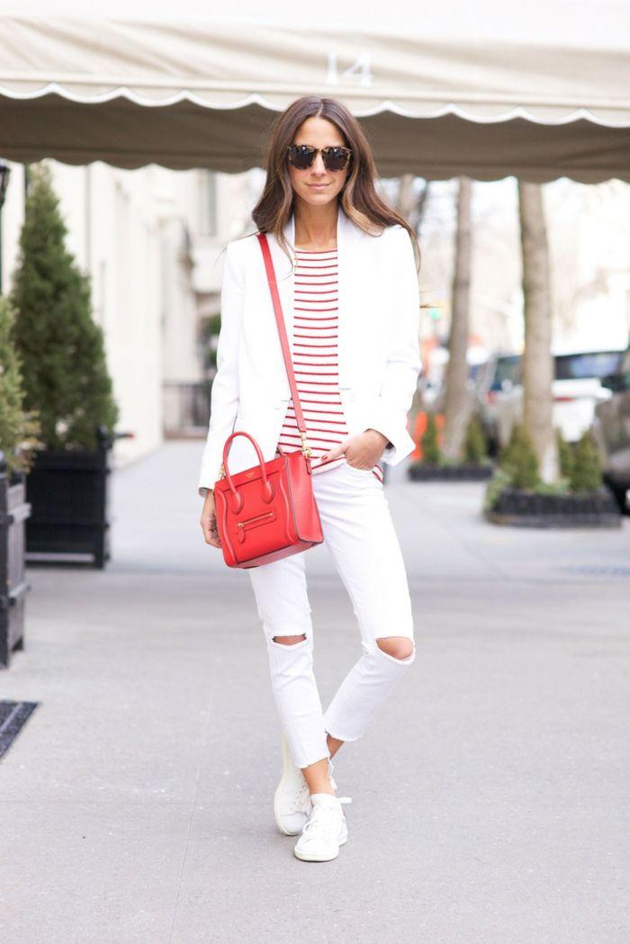 Favori ▷ 1001+ idées pour créer la meilleure tenue rouge et blanc  DK08