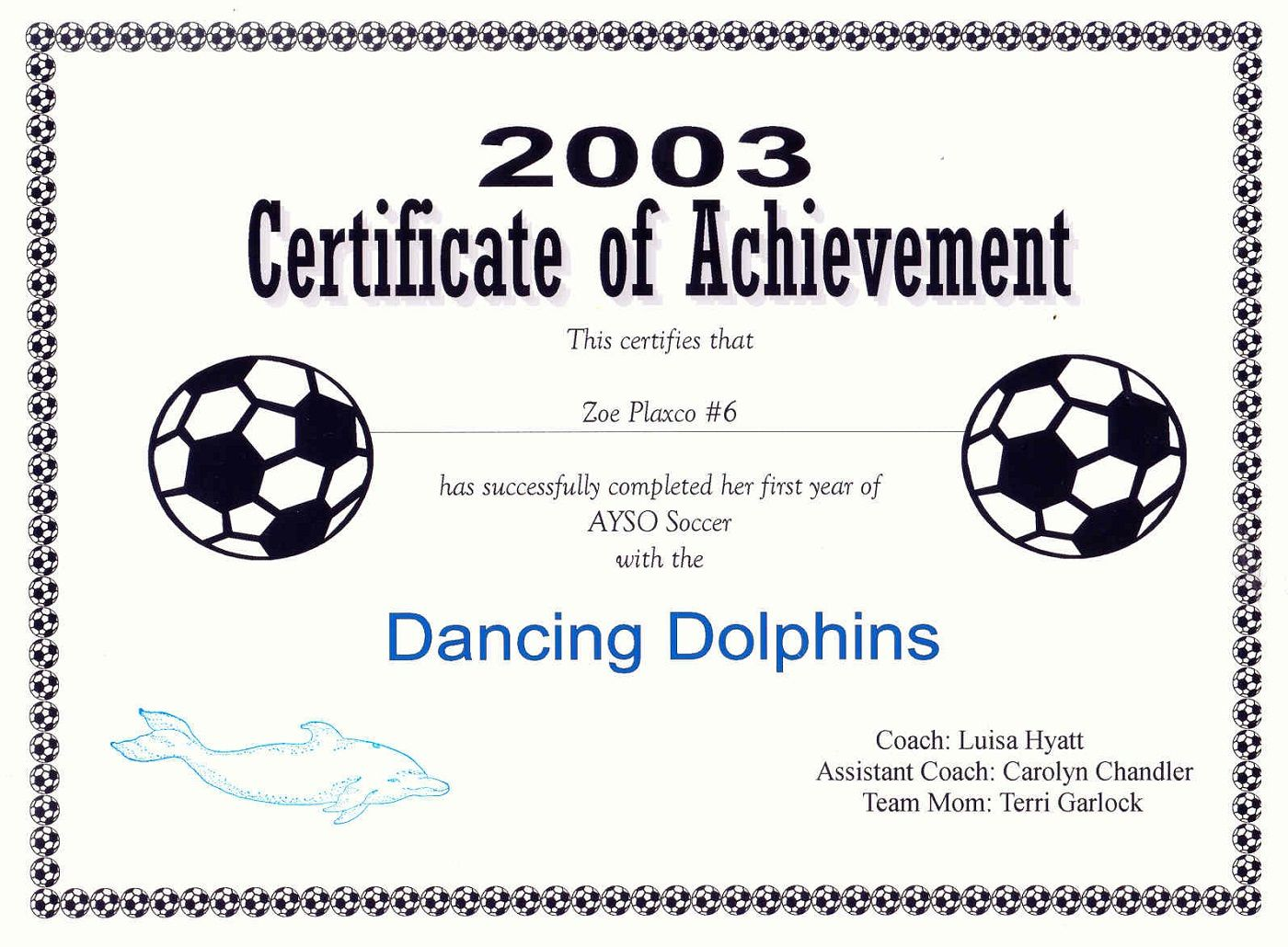 29 Images Of Blank Award Certificate Template Soccer With