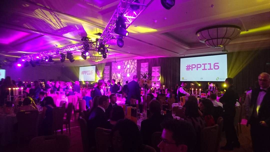 We're at the PPI Radio Awards 2016 at the Lyrath Estate Hotel in Kilkenny #ppi16