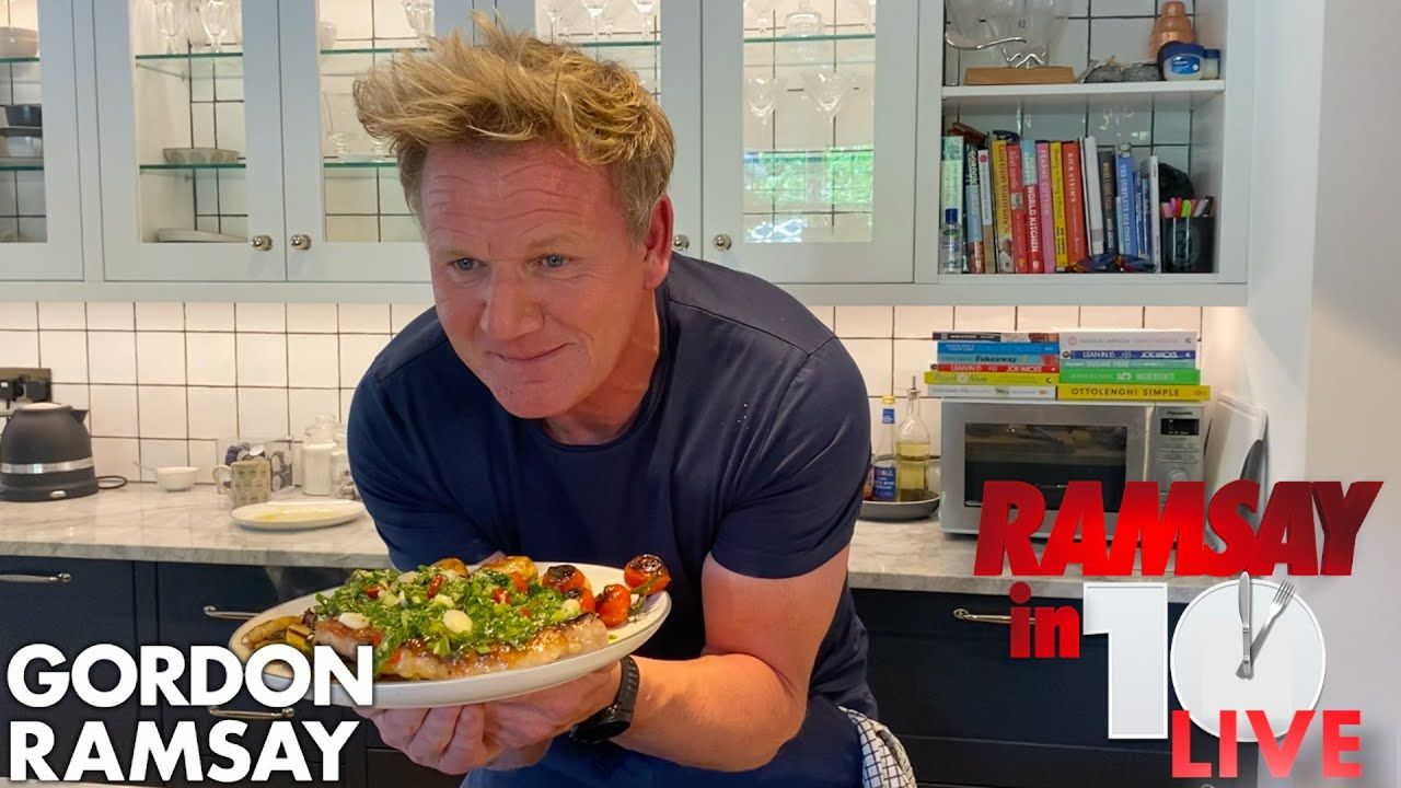 gordon ramsay cooks steak potatoes in under 10 minutes from home ramsay in 10 youtube in 2020 gordon ramsay how to cook steak gordon ramsay home cooking pinterest