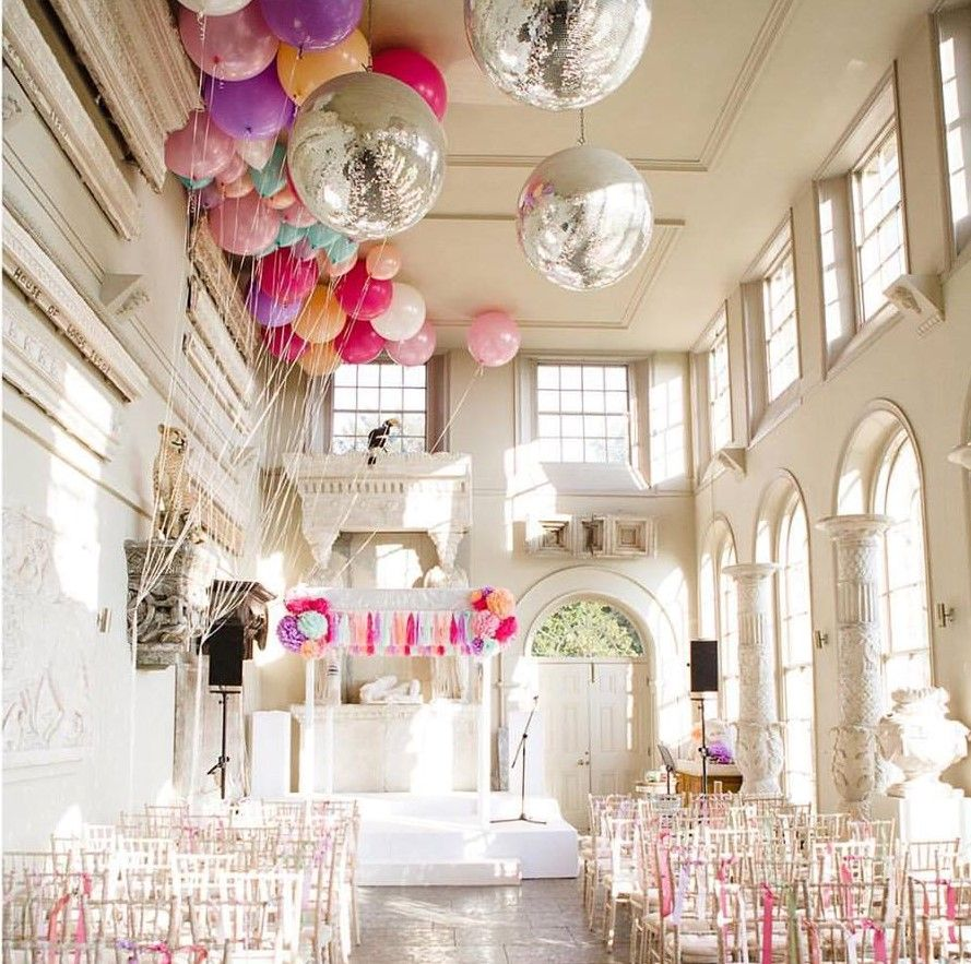 Wedding Balloons, Wedding Inspiration, Wedding Decorations, Bubblegum  Balloons, Wedding Inspo, Wedding Design