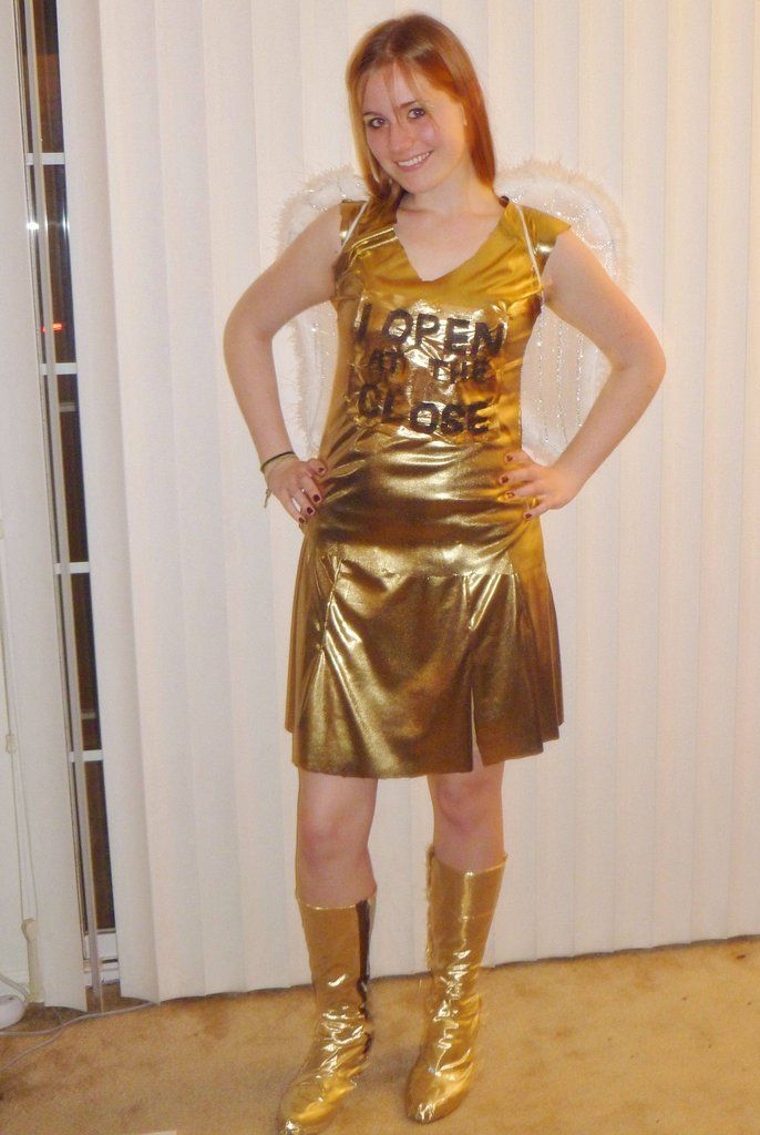 golden snitch costume idea... I like the wings! | Harry ... |Diy Golden Snitch Costume