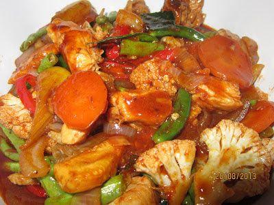 Resepi Cikgu Ani Ayam Paprik Food Malay Food Chicken Recipes