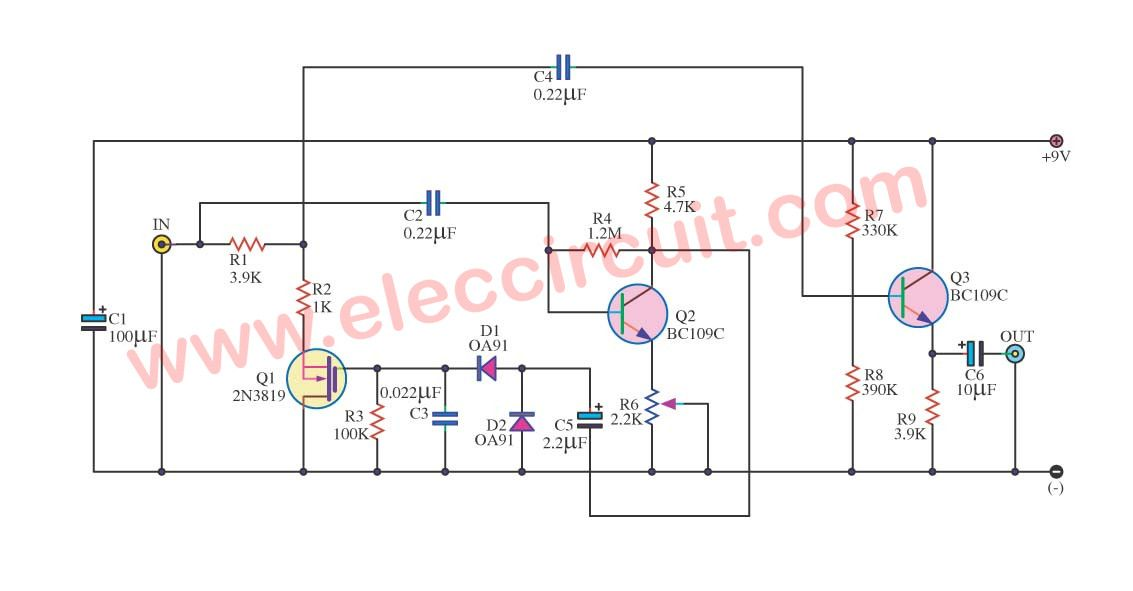 simple audio noise filter circuit radio frequency circuits rh pinterest com