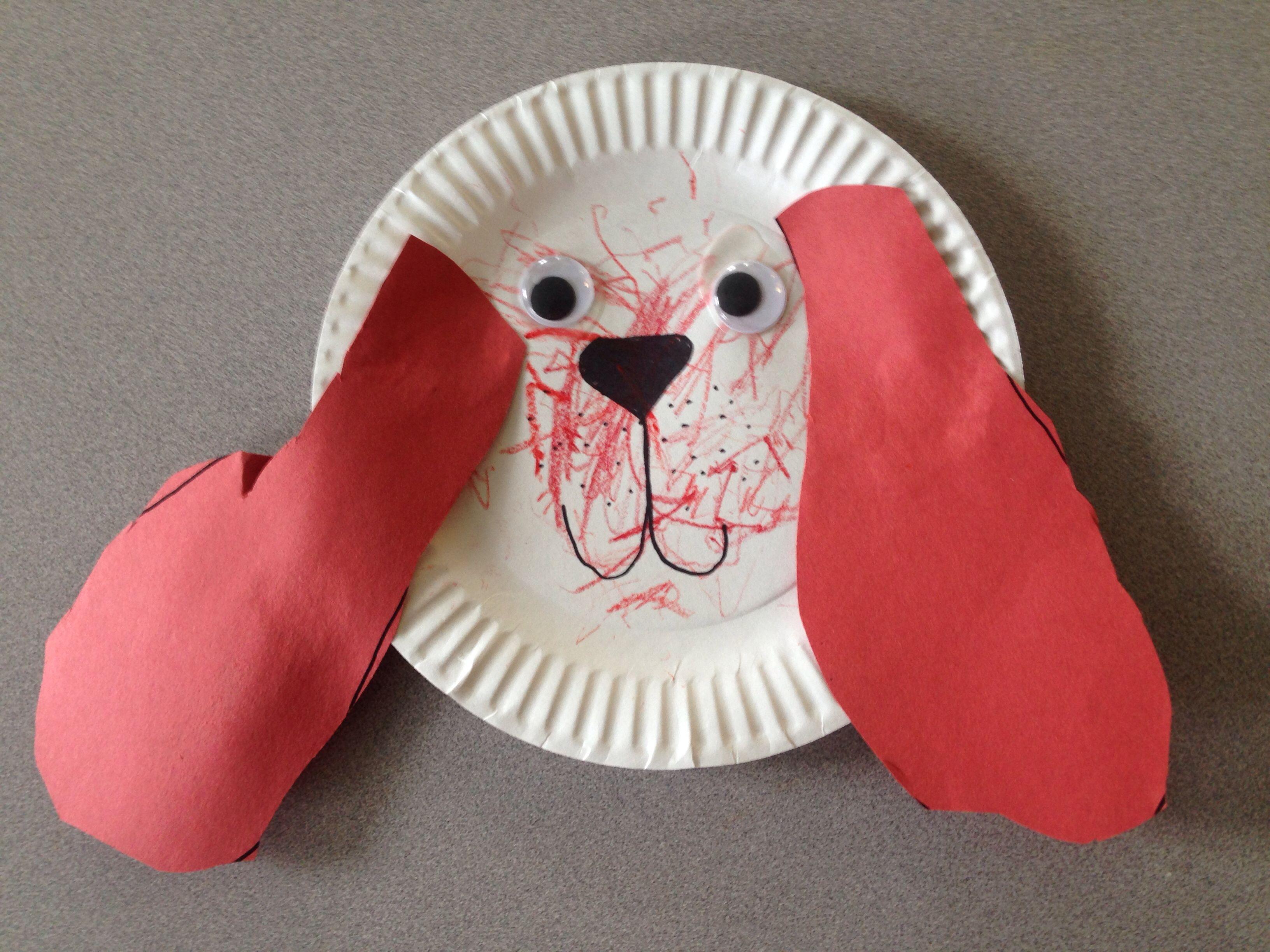 Clifford Big Red Dog Crafts Preschool Art Activities