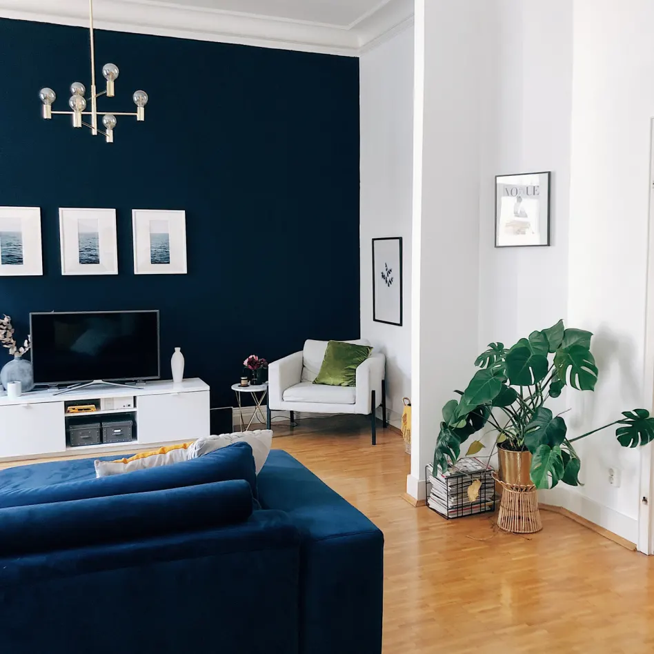 Browse Photos Apartment Therapy In 2020 Blue Living Room D