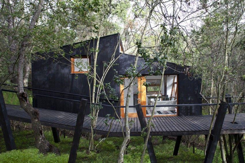 design memorable retreat Experience Raw Nature While In Your Comfort Zone: Casa Quebrada in Chile