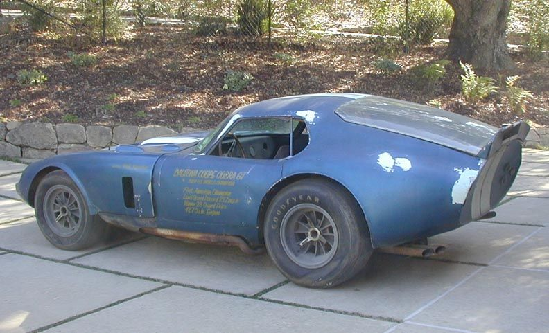 The And Recently Uncovered Lost Shelby Daytona Coupe From An Estate Enjoy As Its Under Restoration Youll Never See A Barn Find Like It Again