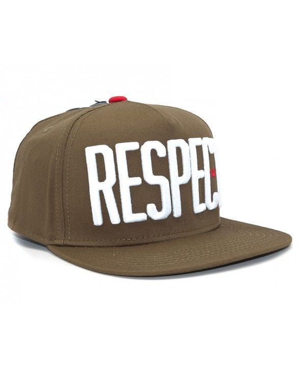 NEFF Damian Respect Snapback cap Olive  cd4e7417ed2