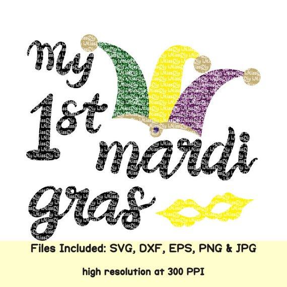 Mardi Gras Svg My First Mardi Gras Svg Mask Beads Newborn New Baby Girl Boy Svg Files For Cricut Sil Mardi Gras Mardi Gras Svg New Baby Products