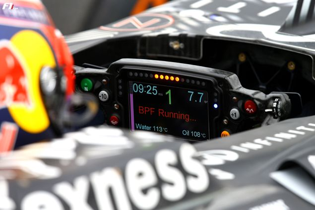 Afbeeldingsresultaat voor Red Bull Racing Steering wheel display