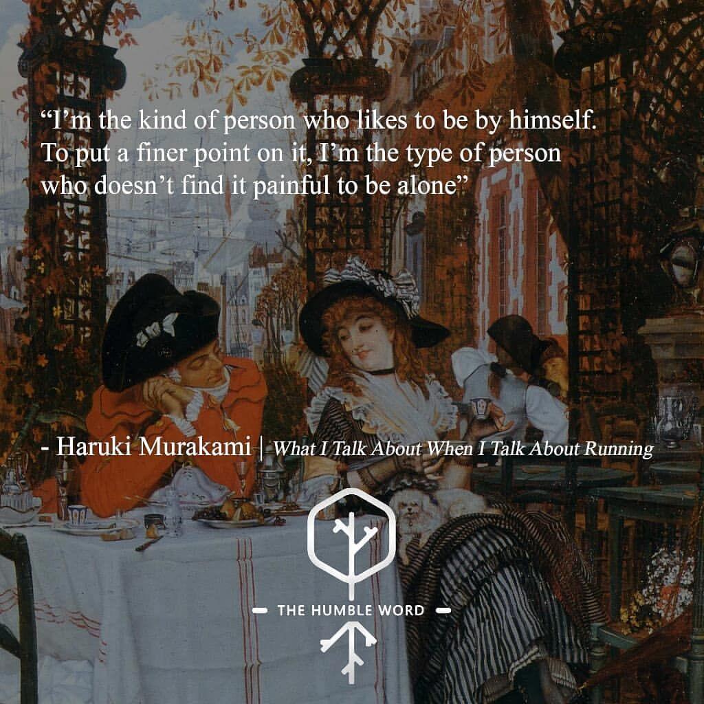 Quote Haruki Murakami Art James Tissot A Luncheon Murakami