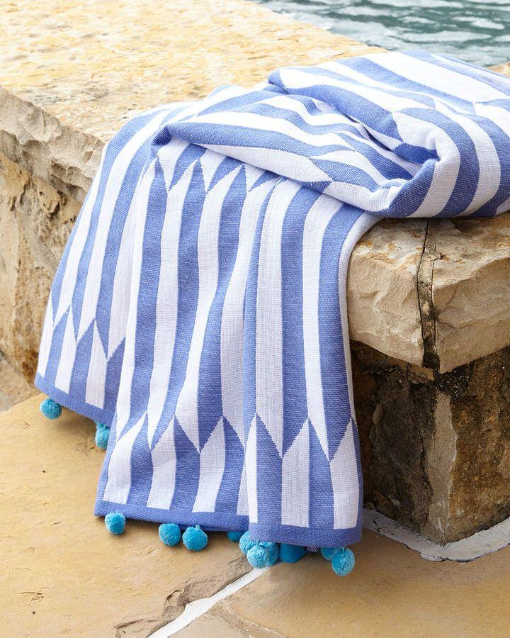 Nicatta Blue Beach Towel Products Beach Towel Blue Beach Towel