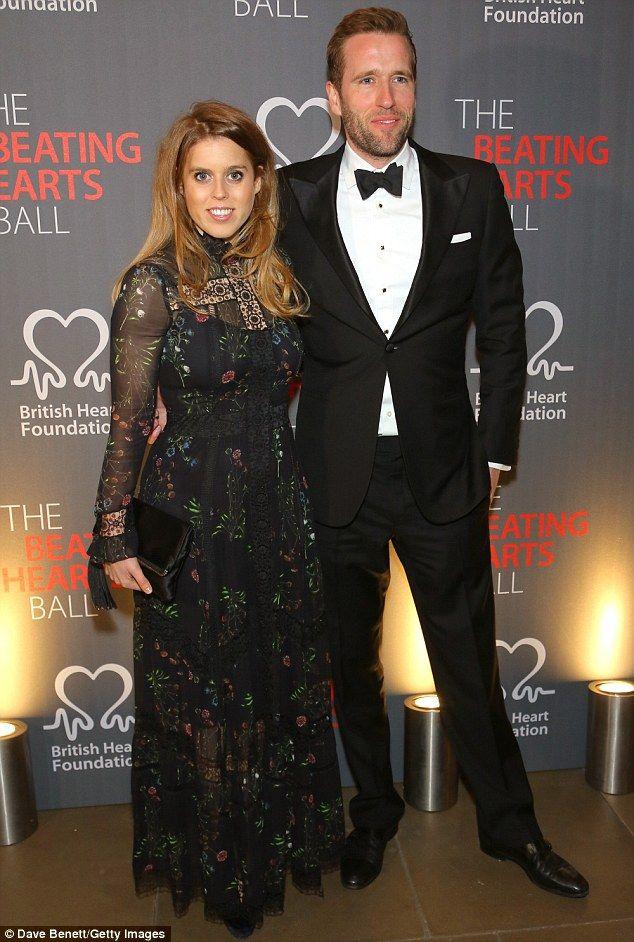 Princess Beatrice attends British Heart Foundation Ball