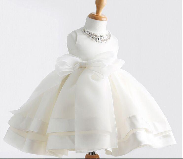 compra marfil vestido de bautizo online al por mayor de china