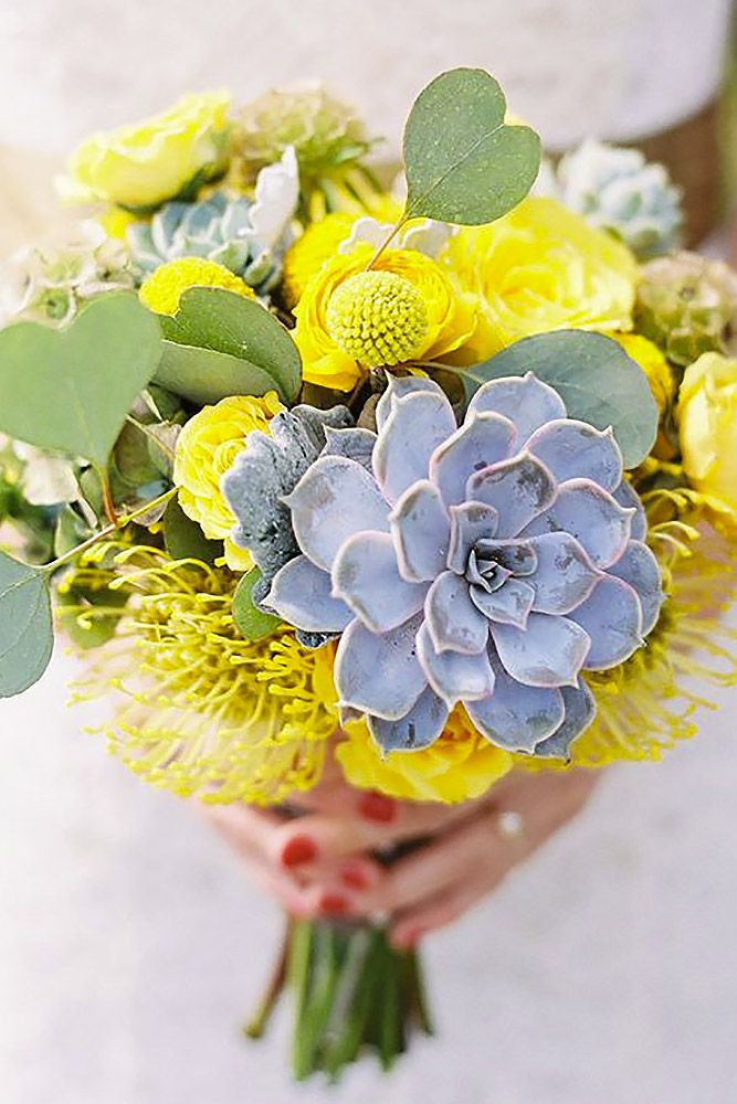 24 Wedding Bouquets That Are Beautiful & Unique ❤ See more: http://www.weddingforward.com/beautiful-wedding-bouquets/