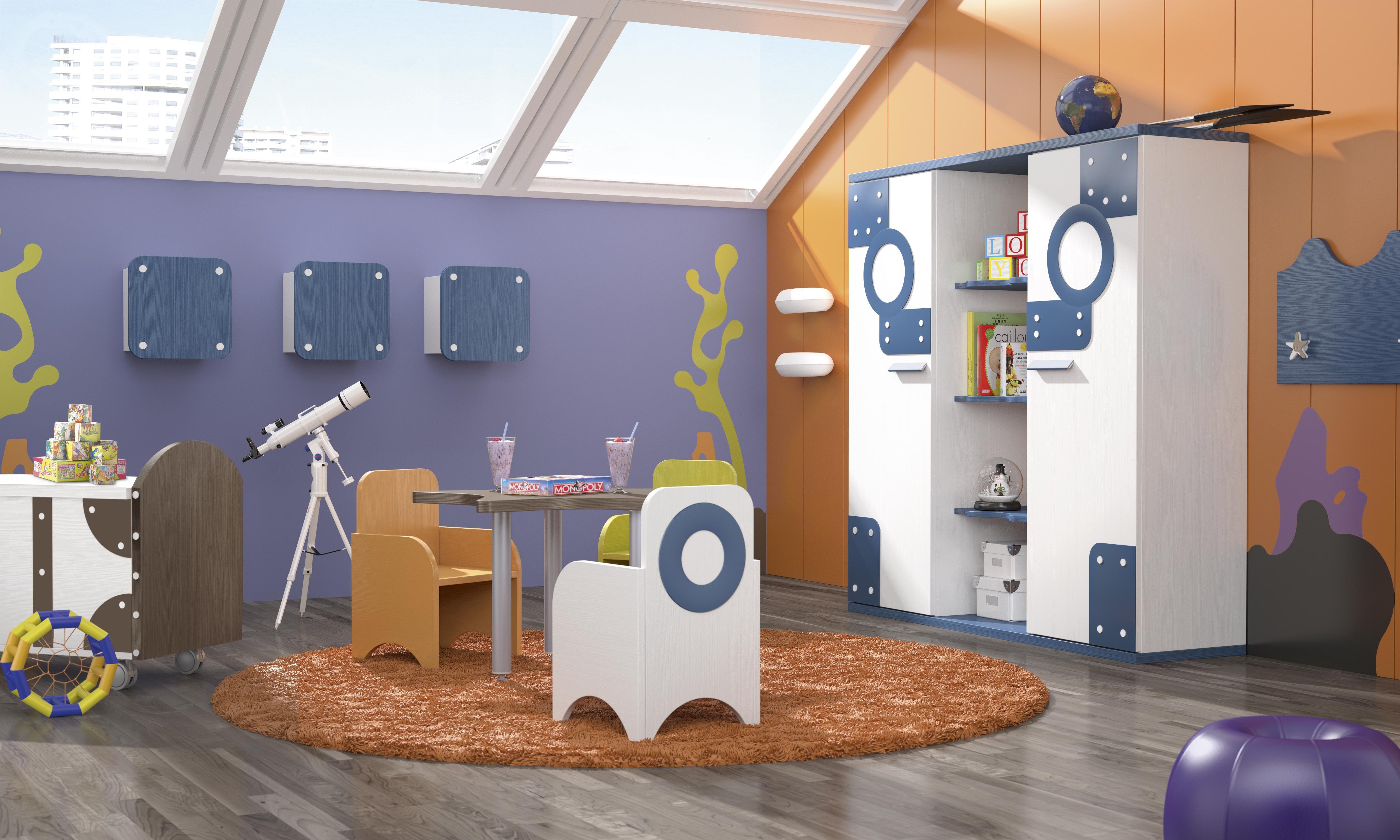Habitaciones infantiles tem ticas dibujos animados bob7 fondo del mar seabed pinterest room - Habitaciones infantiles tematicas ...