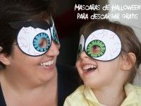 Máscaras de Halloween para imprimir gratis