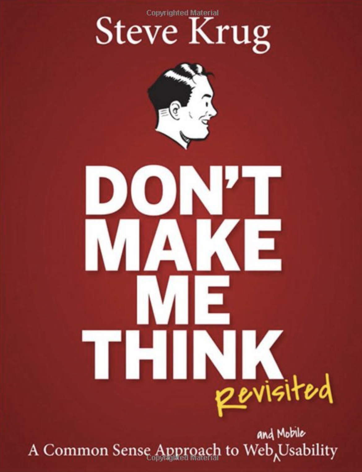 Don't Make Me Think | User experience design, Book design, Good books
