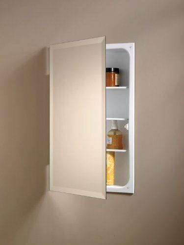 Unbranded Silverton 14 In X 18 In X 4 In Recessed Medicine Cabinet In Unfinished Fr 218 Unf Door The Home Depot Recessed Medicine Cabinet Wood Medicine Cabinets Shaker Style Doors